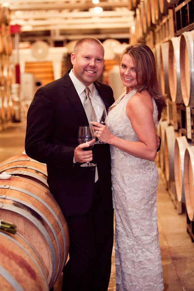 Elopement Option 4: Merryvale Vineyards Cask Room